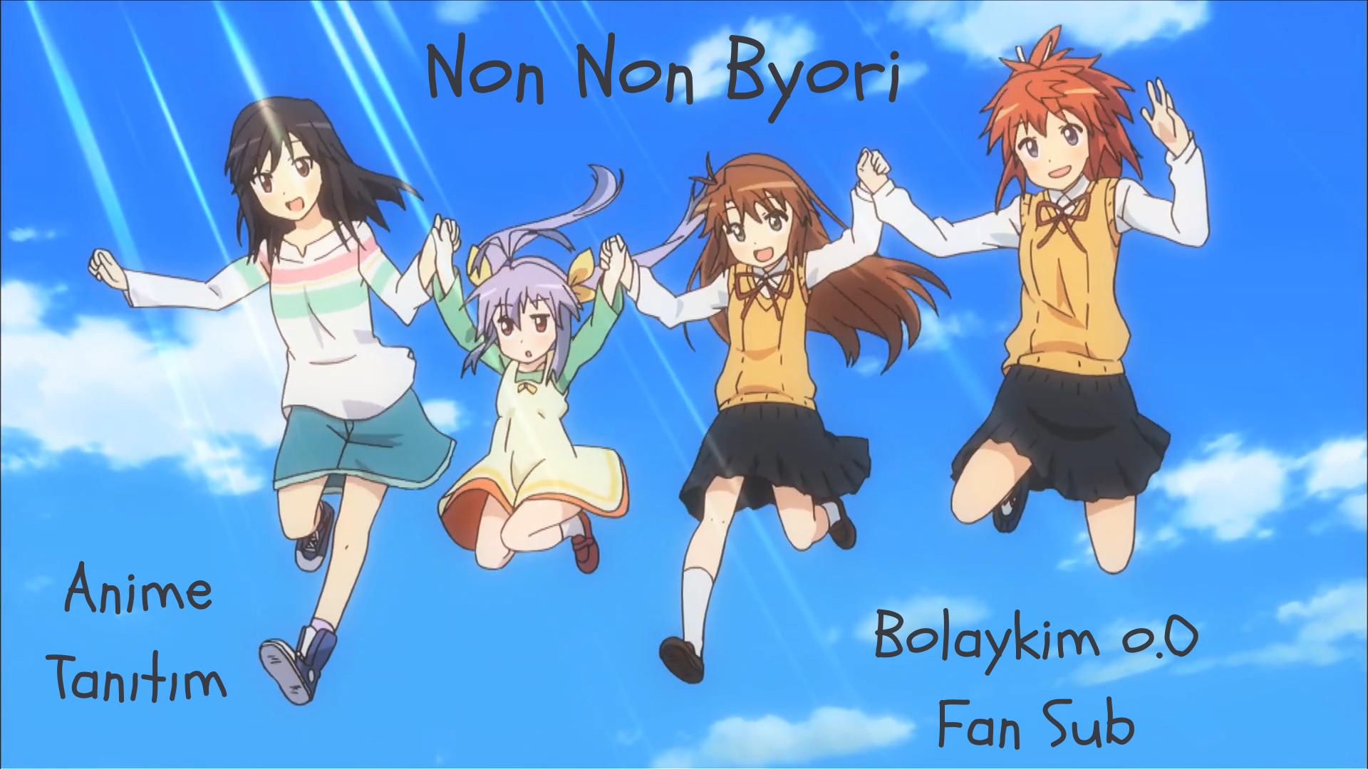 Non Non Byori – Anime Tanıtım